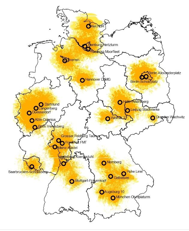 Dab Radio Empfang Karte.Empfangskarte Dab Radio Horeb Leben Mit Gott